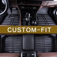 Auto Styling Custom Special Made Car Interior Floor Mats Pads Cover For Ford Mondeo Fiesta Ecosport