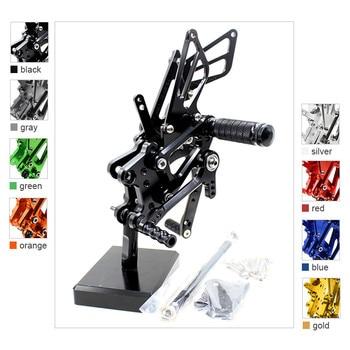 FOR HONDA CBR600RRcbr600rr 2007-2008 CNC Aluminum Alloy Motorcycle footrest footpeg pedal foot peg Rearset Rear Set