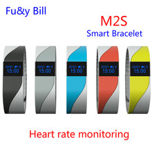 New Fashion M2S Bluetooth Smart Phone Call To Remind The Health of Smart Health Monitoring Step Movement Bracelet