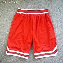 Высококачественные спортивные мужские шорты для занятия баскетболом Slam dunk улица хип-хоп баскетбольные шорты с карманом тренировочные шорты для бега новое поступление