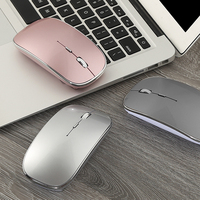 Wireless Mouse For Macbook Air 13 Pro 13 Gaming Mouse For Pc Desktop Rechargeable Laptop Mouse