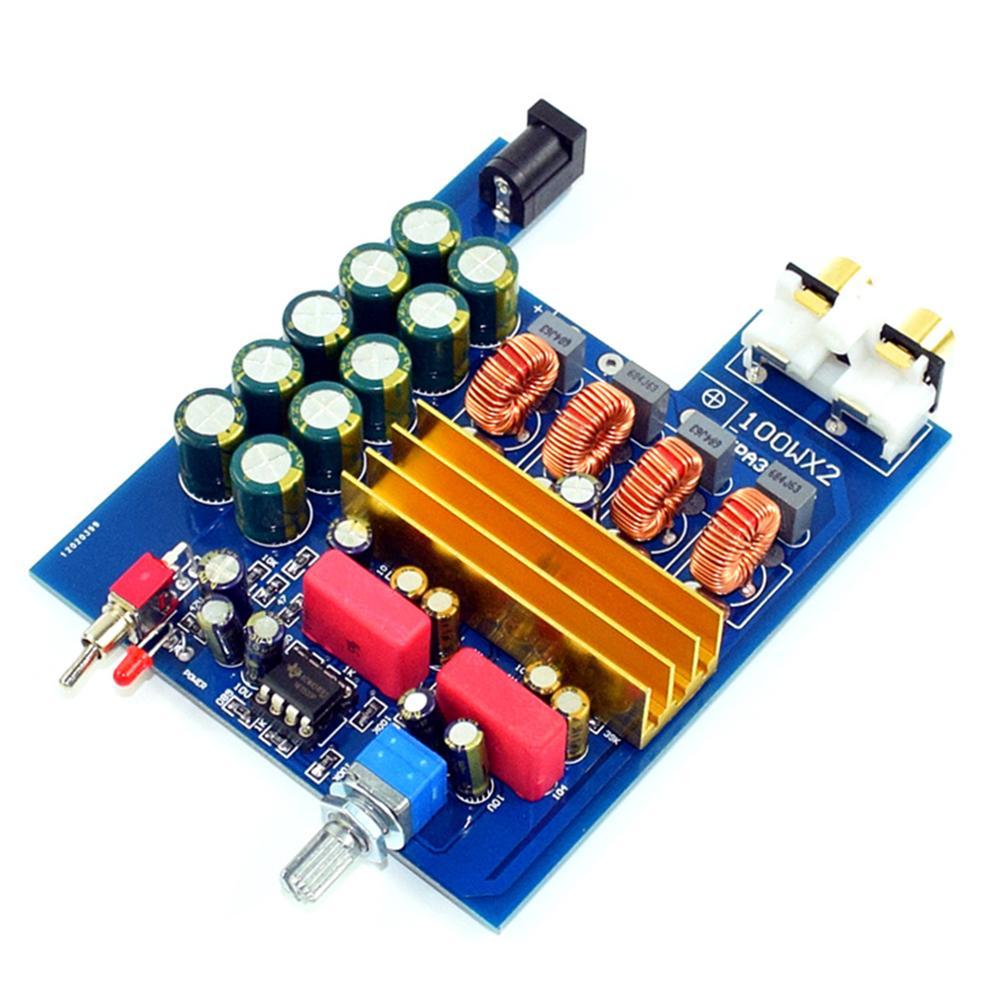 Assembled TPA3116 2.0 100W + Class D AMP Amplifier Finished Board YJ00394