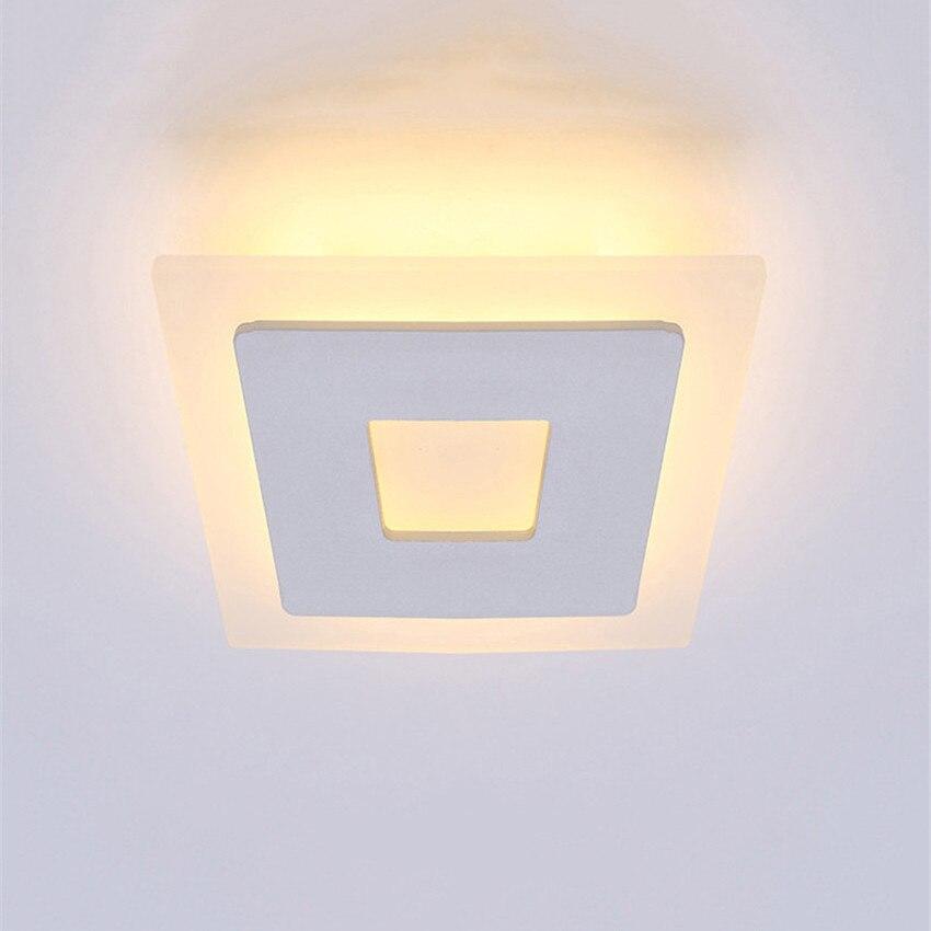 18 watt LED Deckenleuchte Aluminium Acryl Wohnkultur Deckenleuchte - Innenbeleuchtung - Foto 3