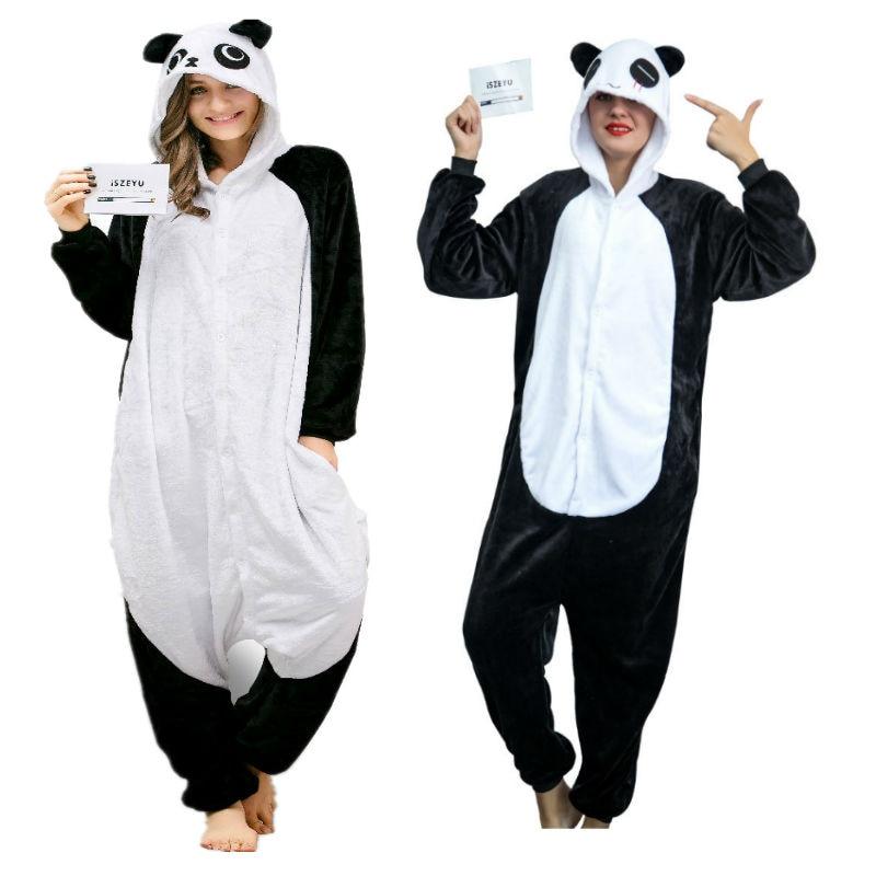 5c7263e8d8 Panda Onesie Adult Pajamas Anime Pyjamas for Adults Women Unicorn Onesies  Pijamas Enteros de Animales Unicornio Onsie