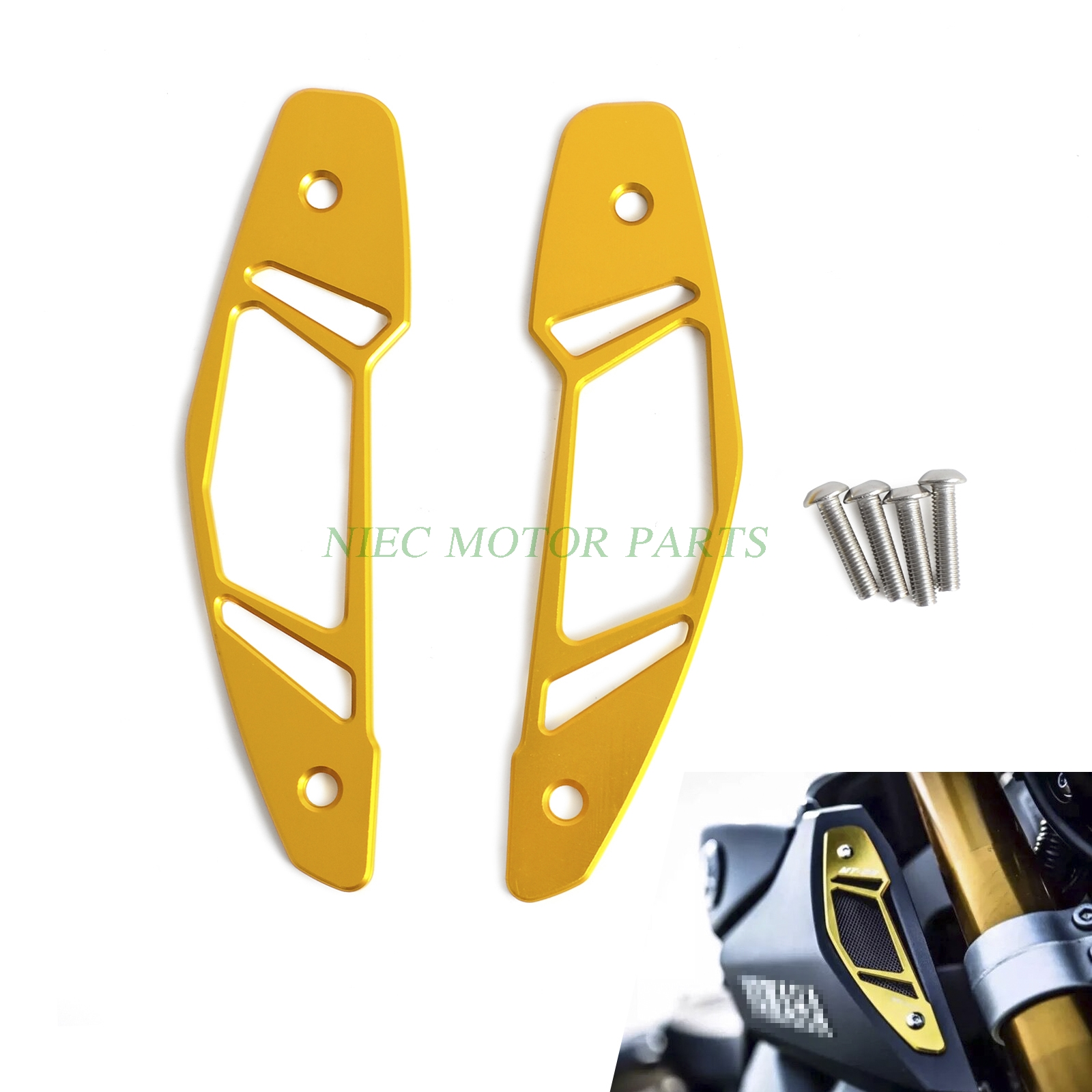 Ram Air Intake Inlet Guard Cover Protector For YAMAHA MT-09 MT09 FZ-09 FZ09 RN29 2013 2014 2015 2016 NEW mt09 mt 09 2014 2016 water coolant recovery tank shielding guard frame cover protector for yamaha mt 09 fz 09 fz09 cnc