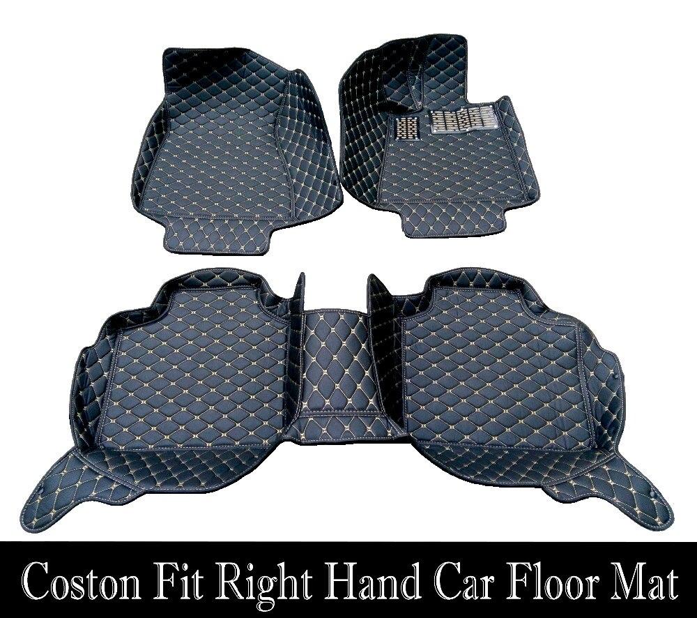 Tapis de sol de voiture sur mesure pour Audi A6 S6 C5 C6 C7 Allroad Avant 5D