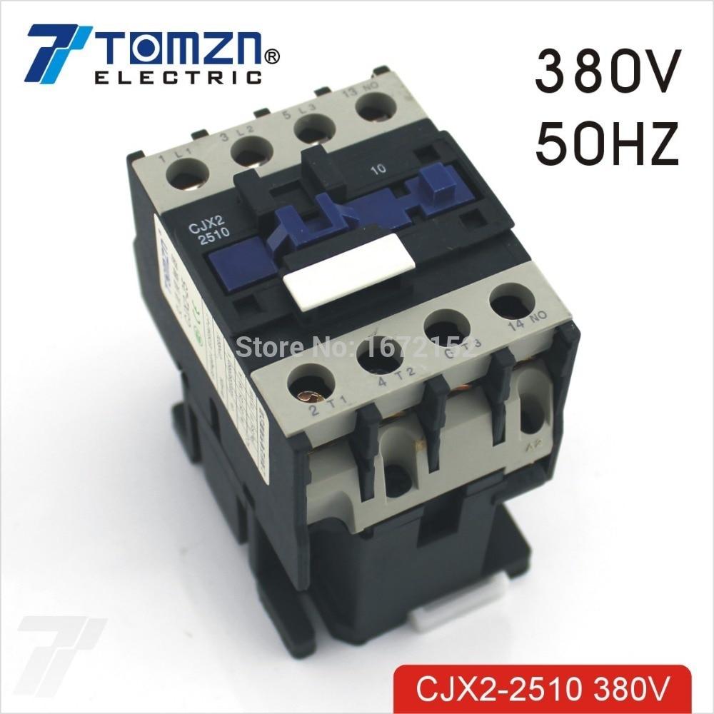 CJX2 2510 AC contacteur LC1 25A 380 V 50 HZ