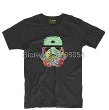 Trooper Art Print Mens & Womens Fitness Tee T Shirt Casual Round Neck Tee