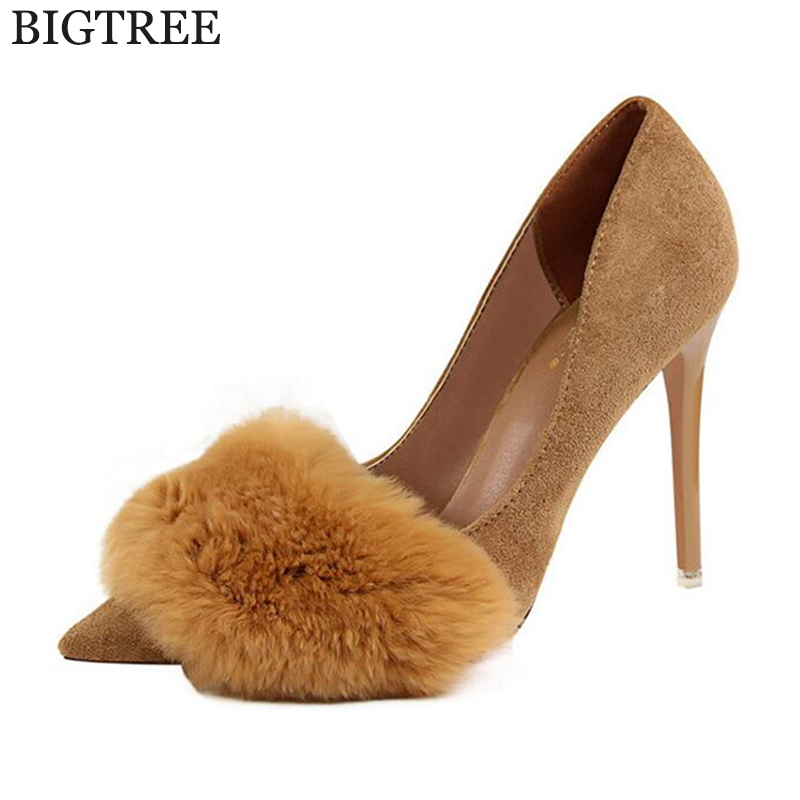 2017 Women Thick Heels Shoes Pumps Career New Fashion High Heels Designer Pointed Toe Ladies Office Shoes escarpins femme z353 meotina high heels shoes women pumps party shoes fashion thick high heels pointed toe flock ladies shoes gray plus size 10 40 43