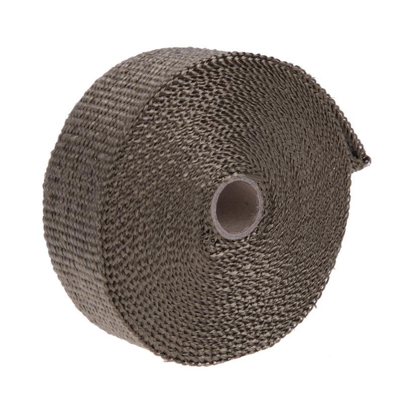 10m Glass Fiber Heat Insulating Wrap Tape Heat font b Exhaust b font Pipe Resistant Fireproof