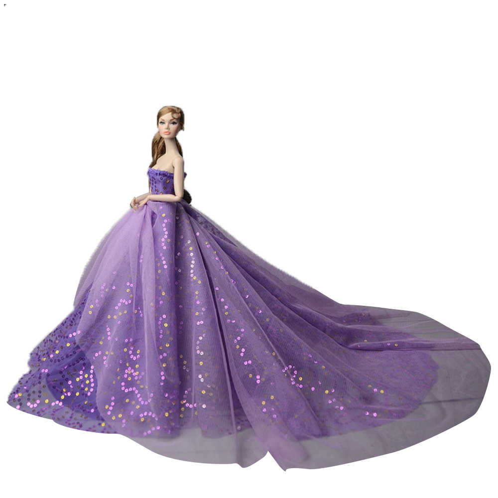 ... about NK 2019 Princess Doll Clothes Handmake Wedding Dress Fashion  Evening Party Outfit For Barbie Doll Accessories FR Noble Doll JJ on  Aliexpress.com ... c82a03b2e7dd