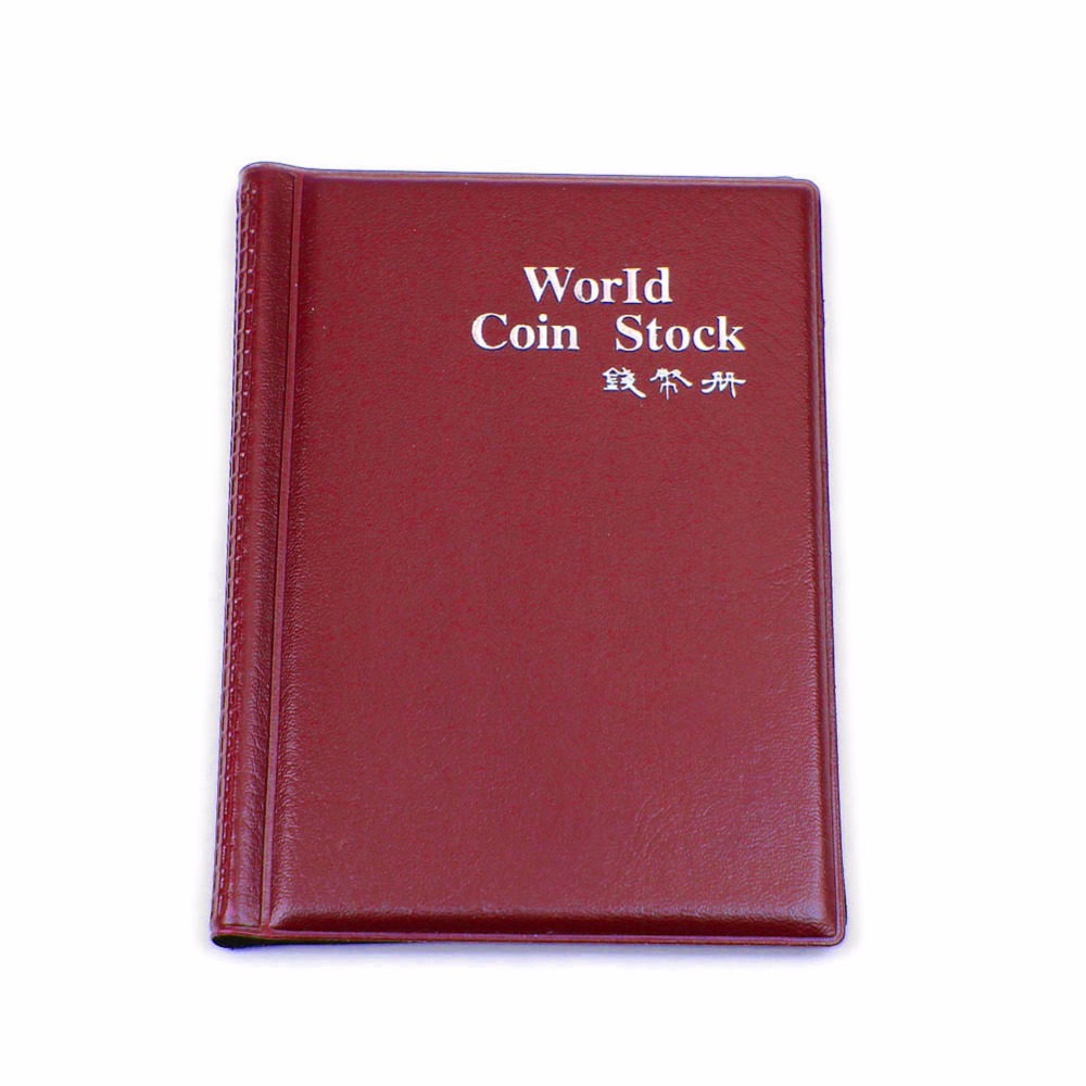 NEW 60 Coin Holders Collection Storage Money Penny Pockets Album Book Collecting