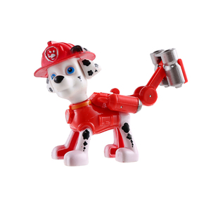 Image 5 - 6 Pcs/set Paw Patrol Patrulla Canina Anime figure Action Figures puppy patrol Car Toy Patroling Canine Toys for Children
