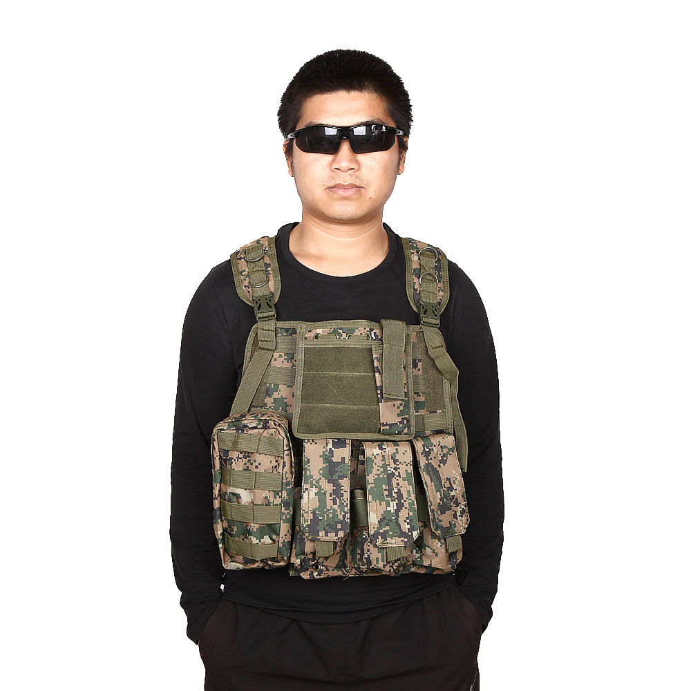 Outdoor Training Hunting Waistcoat Military Vest Safety Clothing SWAT Airsoft CS Paintball Tactical Hunting Combat Assault Vest tactical hunting airsoft paintball hunting combat assault vest outdoor training hunting waistcoat military vest safety clothing