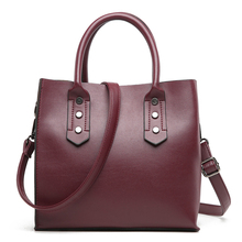 PU Leather Handbags Big Women Bag High Quality Casual Female Crossbody Bags Trunk Tote Brand Shoulder Bag Ladies Large Bolsos longmiao brand designer high quality women shoulder bag casual pu leather female big tote bag ladies handbags bolsa feminina