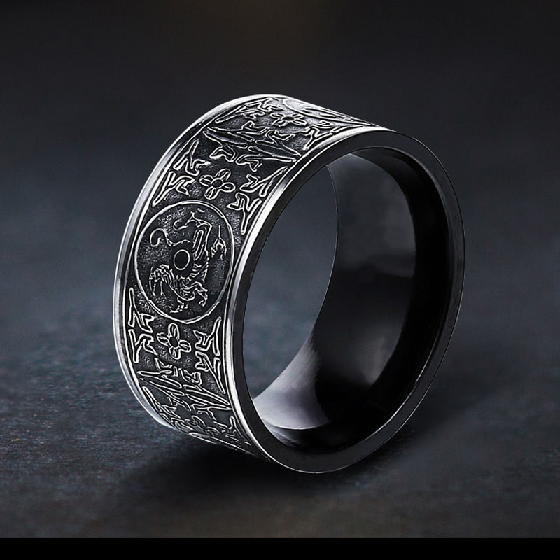 soldier-rings-for-men-titanium-steel-carving-dragon-mens-ring-retro-gothic-chinese-ethnic-style-pers