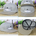 Alisister Totoro Baseball Cap Women Men 2017 Fashion Brand Wholesale Street Hip Hop Caps Suede Hats Unisex Grey Baseball Cap