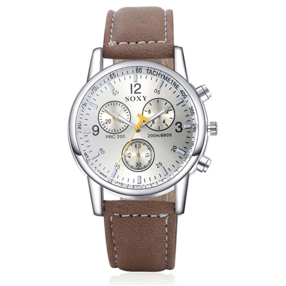 mænds forretningsklokke mænds armbåndsur mand kvarts ur sport - Mænds ure - Foto 3