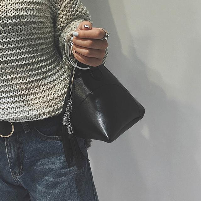 Women's Unique Mini Bag with Tassel
