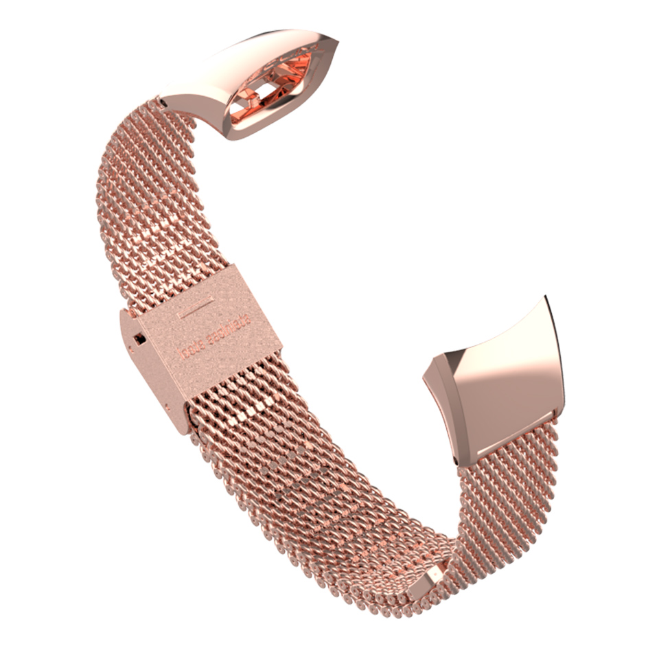 Image 5 - Metal Strap for Honor Band 3 Wristband Stainless Steel Bracelets for Huawei Honor 3 Band 4 Watch Band for Honor Band 4 StrapSmart Accessories   -