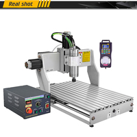 4 Axis Industrial CNC Router Mini CNC 6040 2200W Spindle Metal Cutting Engraving Machine March3 ER20 Collect With Handwheel