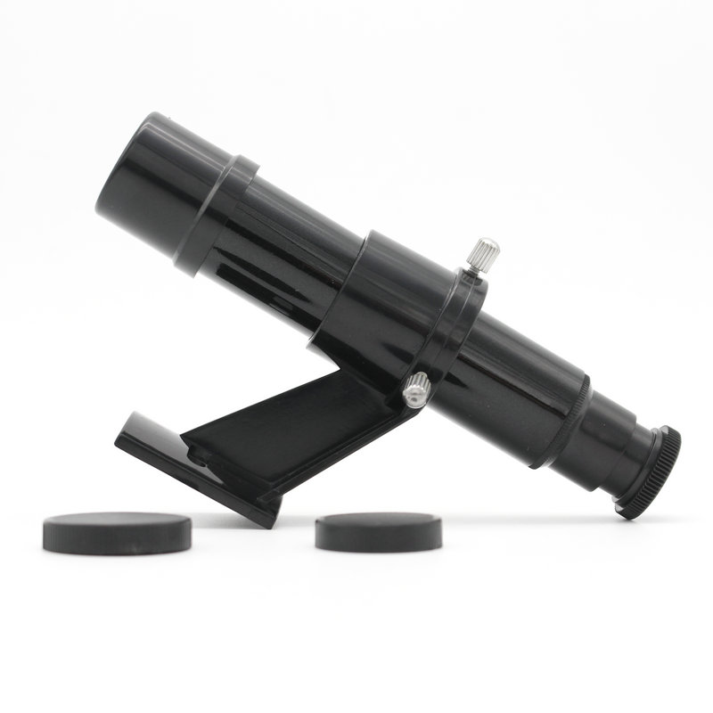 Datyson 5x24 astronomiskais teleskops Finderscope Star Pointer Finder darbības joma Riflescopes with Sight Bracket krustiņš Black