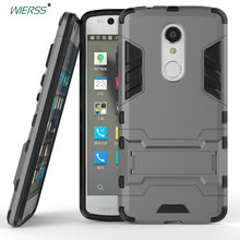 For ZTE Axon 7 mini 3D Luxury Shockproof Stand Hard case For ZTE Axon 7 mini /B2017G case Combo Armor case Back cover стоимость