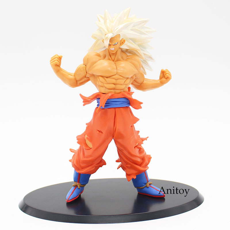 Dragon ball super saiyan 5 son goku pvc action figure - Goku 5 super saiyan ...