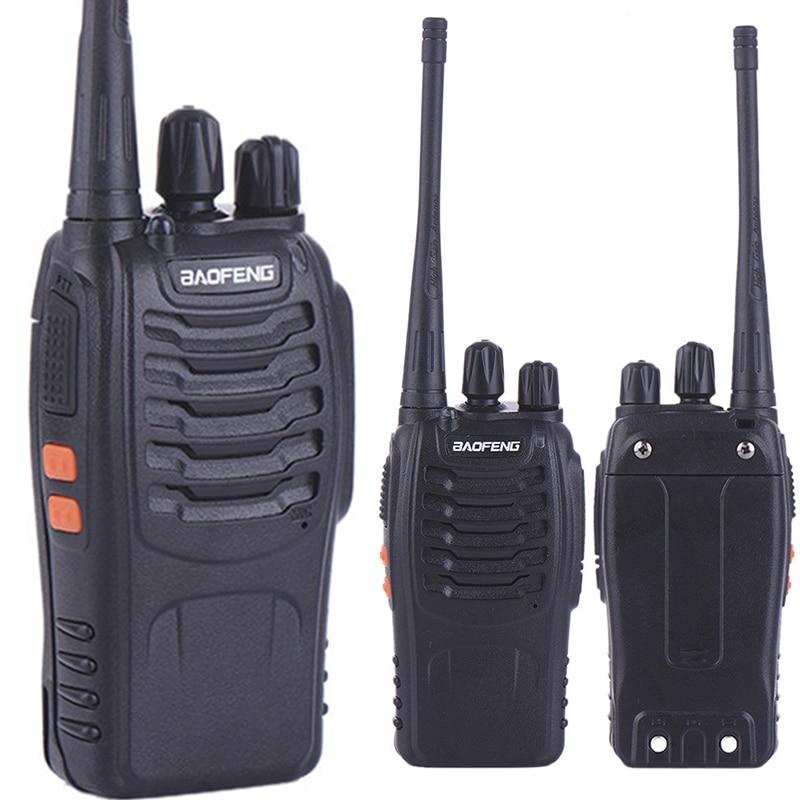 imágenes para 2 unids walk talk Pofung UhfHam Baofeng BF-888S Para Walkie Talkies Policía Escáner de Radio Vhf Amateur Transceptor de Radio 2 Vías Radio