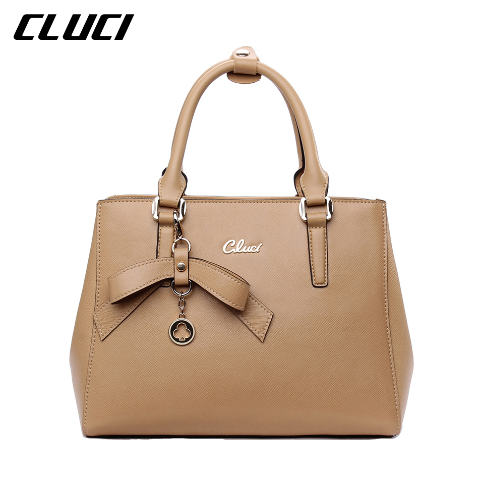 CLUCI New Leather Purses and Handbags Tote Shoulder Crossbody Bag Purse for Women Small Heart-shaped Top-handle Ladies Handbag flower pattern top handle bags for girls hobos small women leather tote bag women bag female handbags black purses and handbags