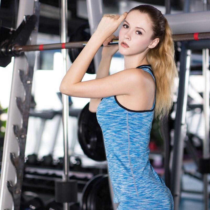 YD Leopardo Sin Mangas Camisa de Yoga Deporte Chaleco Volver Crossfit - Ropa deportiva y accesorios - foto 5