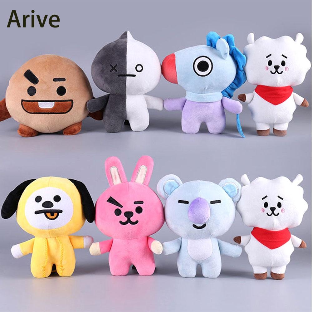 Dolls & Stuffed Toys Kpop Home Bangtan Boys Bts Bt21 Vapp Key Chain Plush Doll Tata Van Cooky Chimmy Shooky Koya Rj Mang Wide Selection; Toys & Hobbies