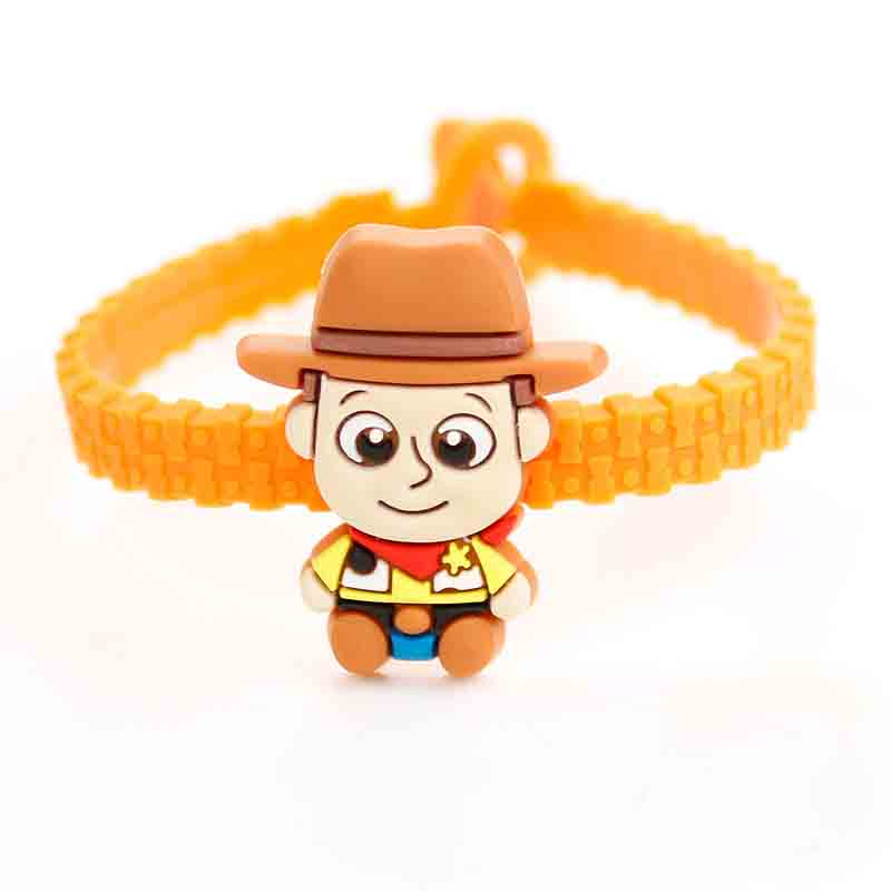 Toy Story 4 Buzz Lightyear Bracelet Avengers Endgame Iron Man Captain America Building Block Bracelet Actiefiguren Kinderen in Action Toy Figures from Toys Hobbies