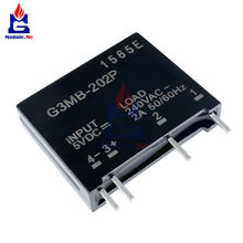 DC-AC 5V DC zu AC 240V 2A G3MB-202P G3MB 202P Relais Modul Solid State Relais Für Arduino