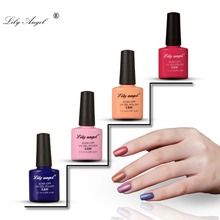 Lily angel 2019 New Nail Art Design Nude Gel Polish 7.3ml 110 Colors Soak Off uv led gel nail polish Lacquer set