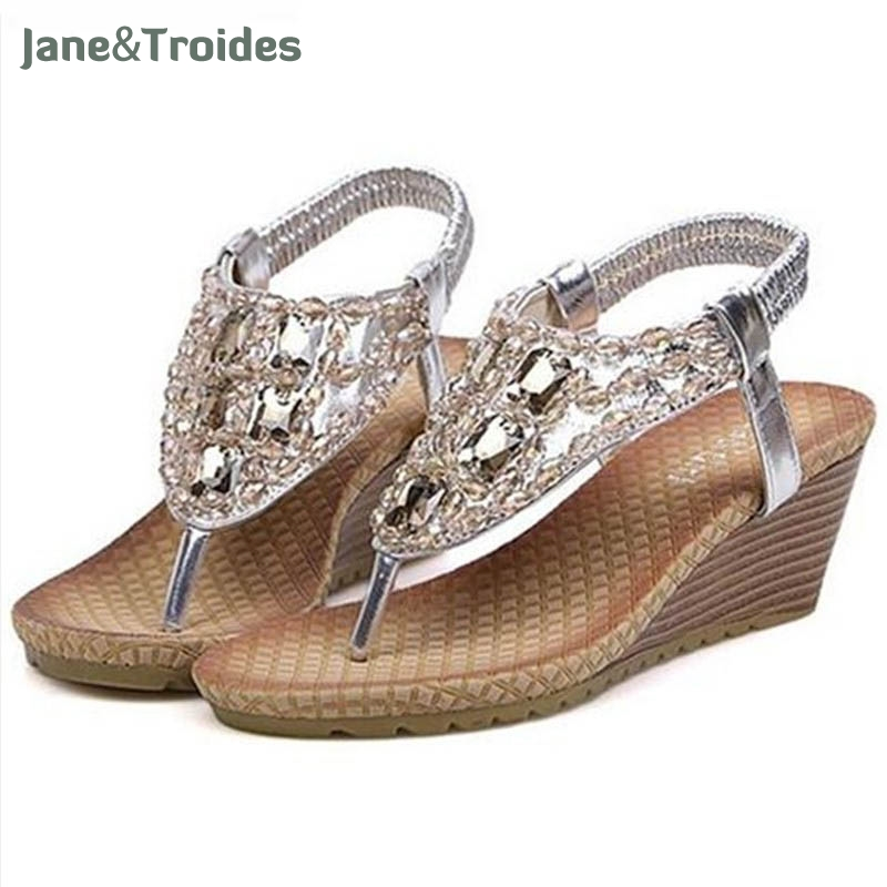 Shoes women sandals 2018 hot fashion Rhinestone summer women sandals women shoes diomand fashion new design women shoes