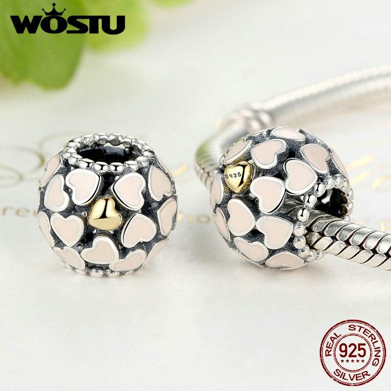 высокое качество 925 стерлингового серебра примроуз луг шарм подходит оригинальный браслет аутентичные ожерелье DIY для ювелирных