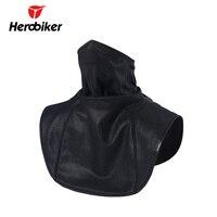 Herobiker máscara facial da motocicleta xale esqui bicicleta neckerchief capa à prova de vento inverno velo térmico ciclismo máscara moto cachecol|Máscara p/ moto| |  -