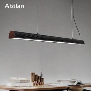 Aisilan скандинавский подвесной светильник, обеденный Настольный светильник, кухонный бар, светодиодный Современный простой креативный офисн