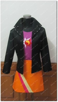 Sunset Shimmer Cosplay Costume Anime Custom Made Personification Uniform