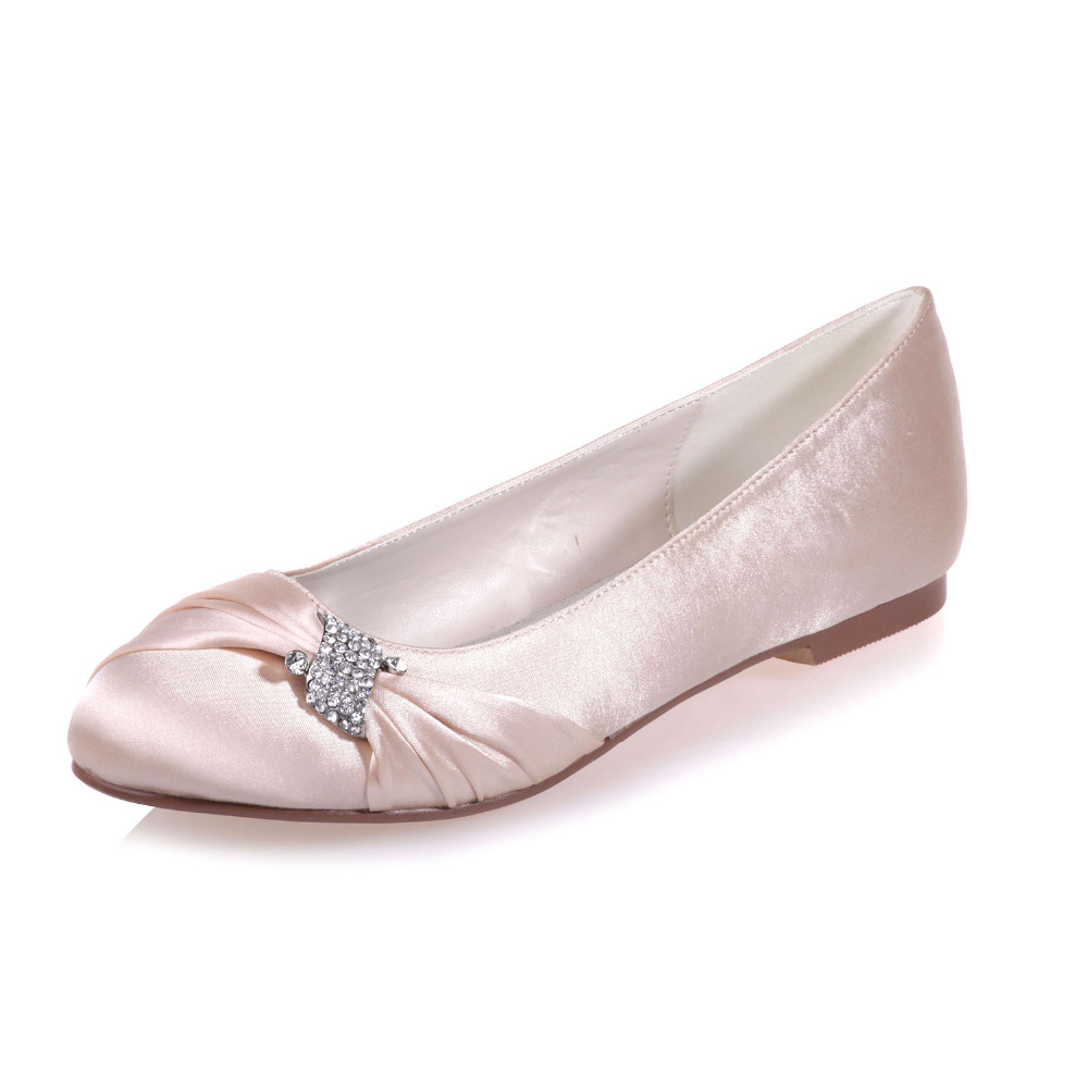 De Appartements Pourpre Cristal Creativesugar Élégant Bleu Plage Bal Blanc Femme Noce Banquet Dames Noeud Chaussures Satinrhinestone 6gyYb7fv
