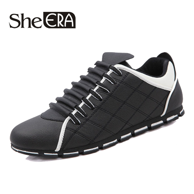 Hot Men Casual She ERA Shoes Men Fashion Sneakers Comfortable Men s Shoes  Leisure Lace up Loafers a0a88cdf0f84