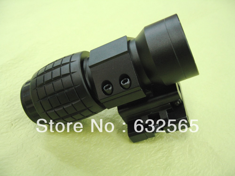 ФОТО Hotsale Tactical 3X Magnification Rifle Scope Airsoft Scope Sight with Free mount, IR2-032