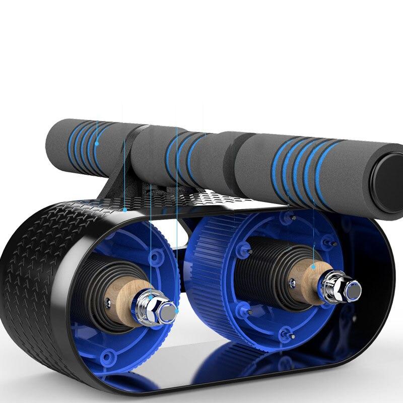 Rebond roue abdominale réservoir à domicile roue abdominale push-up rouleau réduction roulement roulement muet équipement de fitness