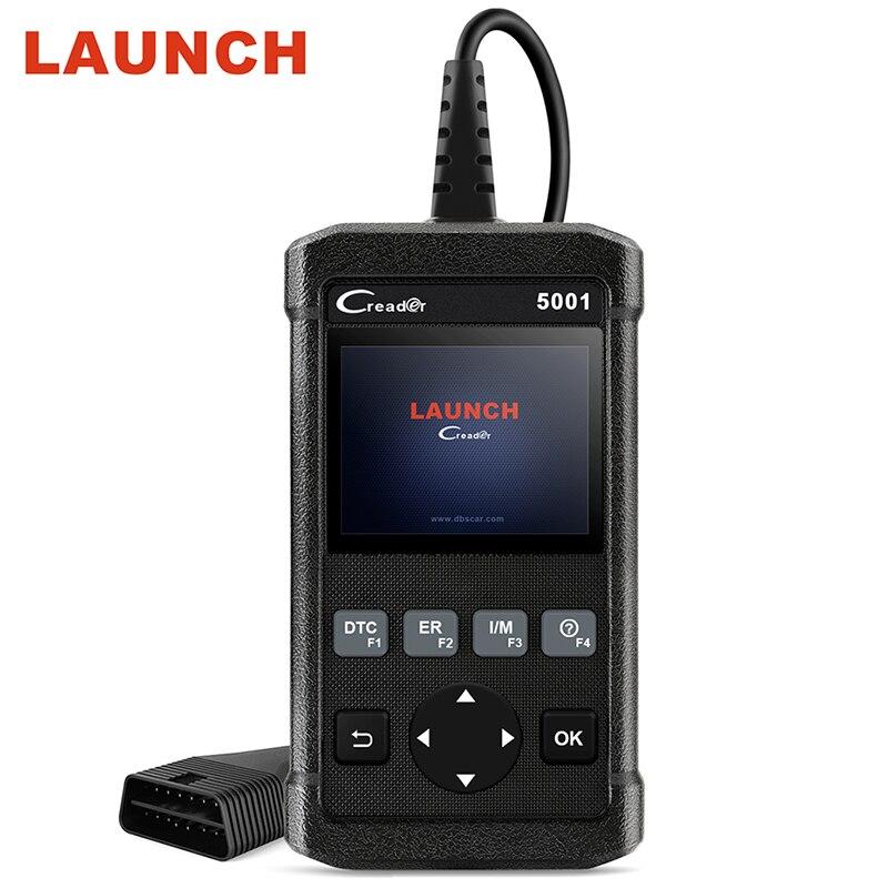 Запуск Creader 5001 OBDII/EOBD диагностический инструмент CR5001 сканер на борту монитор Тесты же обновление онлайн Авто диагностический сканер ...