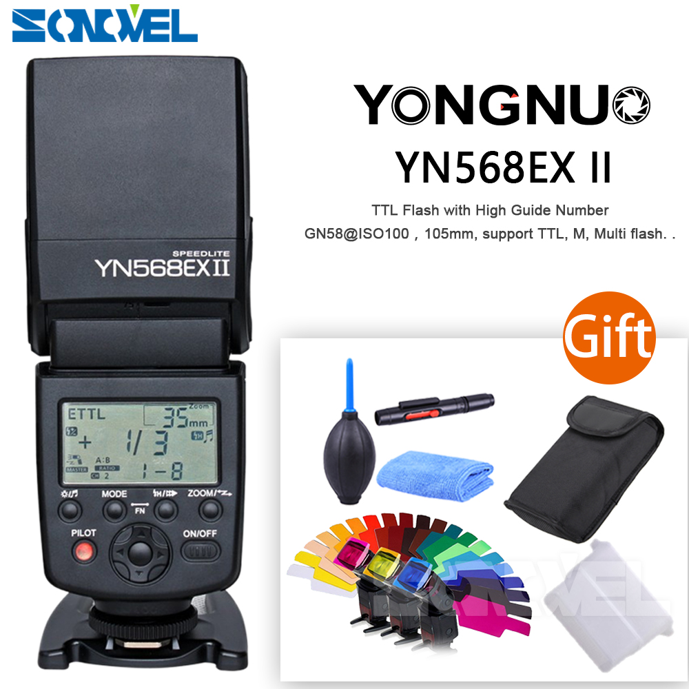 Yongnuo YN568EXIII YN-568EX III wirless TTL HSS 1/8000s Flash Speedlite for Canon 200D M6 M5 5DSR 7D Mark II 77D 6D 5D 800D 80D 3pcs yongnuo yn600ex rt auto ttl hss flash speedlite yn e3 rt controller for canon 5d3 5d2 7d mark ii 6d 70d 60d