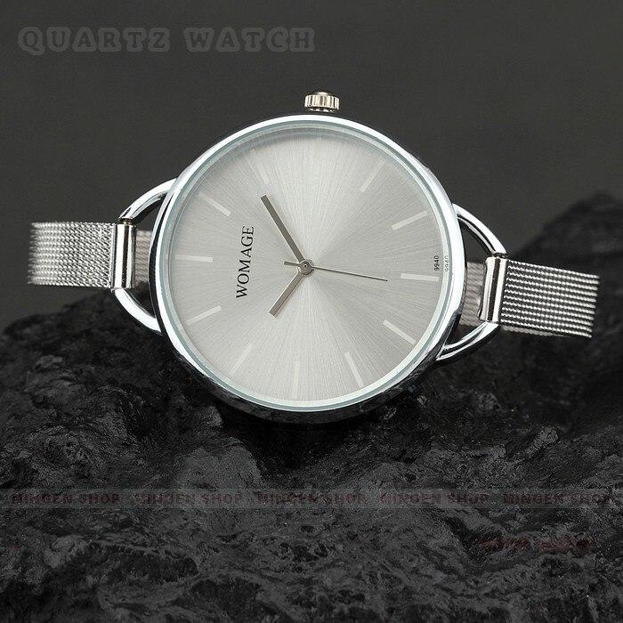 2018 Fashion Womage Brand Mesh Steel Luxury Gold Women Bracelet Women's Watches Luxury Ladies Clock Reloj Mujer Relogio Feminino