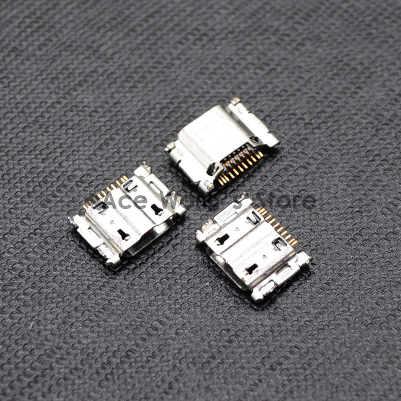 10pcs Micro USB Jack Connector Female 5 pin Charging Socket For Samsung Galaxy S3 I9300 I9308 I939 I535 I747 L710 model aircraft