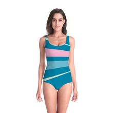 New Fashion One Piece Swimsuit Women Swimwear 3D Printed Monokini Maillot De Bain Femme Bodysuit Female Bathing Suit Beachwear