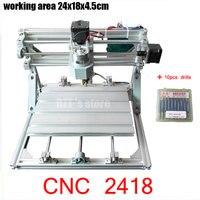 CNC 2418 GRBL Control Diy CNC Machine Working Area 24x18x4 5cm 3 Axis Pcb Pvc Milling